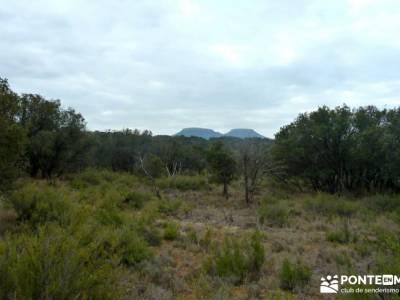Monumento Natural Tetas de Viana - Trillo; singles madrid; trekking